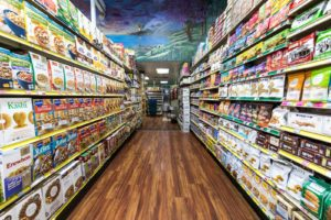 Painting a Grocery Store